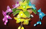 Как сделать цветок из капрона?