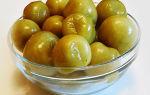 Рецепт зеленых помидоров под капроновую крышку