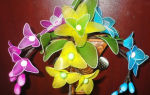 Цветы из капрона и проволоки