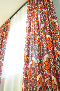 Как удлинить шторы из капрона