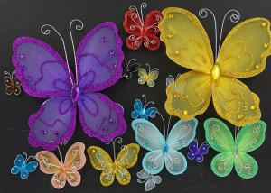 бабочки из капрона