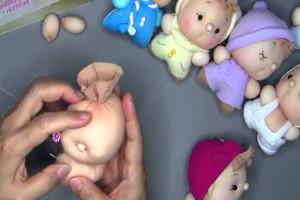 капроновая кукла
