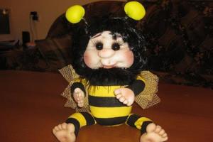 пчелка из капрона 2
